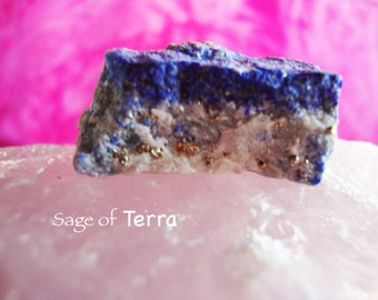 Lapis Lazuli Specimen with Pyrite