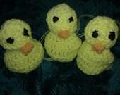 Easter Chick Egg Cosy ! Handmade, Crochet.