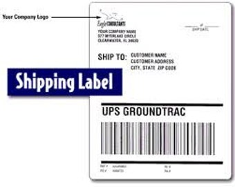 Order for Shipping Label