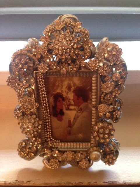 Crystalized Made To Order Bedazzled Blinged Out Frames Made To