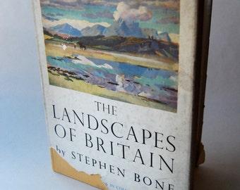 Vintage Book, The Landscapes of Britain
