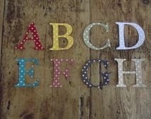 Iron on Fabric Letters