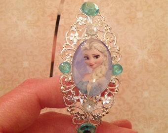 Frozen Elsa headband and necklace set