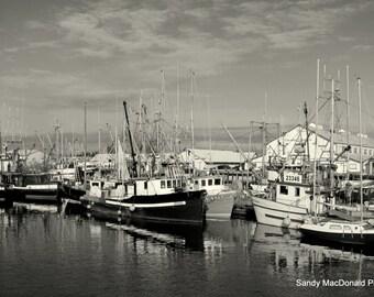 BS009  Steveston Docks, Steveston B.C.