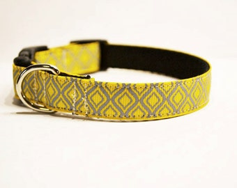 New: Personalized - Yellow Dog collar - made to order