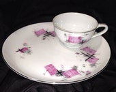 Amazing Laurel China Snack Set