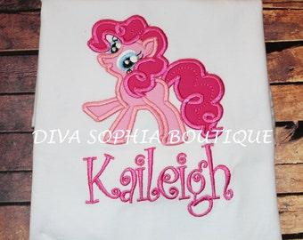 Personalized Pinkie Pie Bodysuit - T-shirt - Birthday - My Little Pony