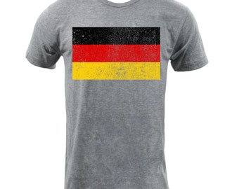 Flag of Germany - Athletic Grey