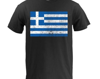 Flag of Greece - Black