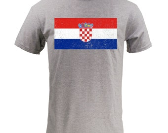 Flag of Croatia - Sport Grey