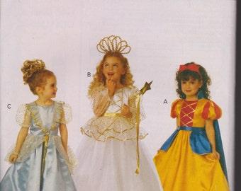 Butterick Brand Sewing Pattern.  Children's sized ust like Disney Princess