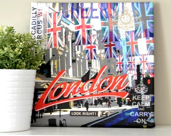 LONDON ENGLAND Canvas Print of Piccadilly Circus