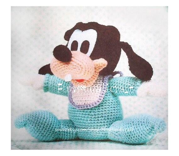 Disney Goofy Baby Amigurumi Pattern E-book in PDF by ...