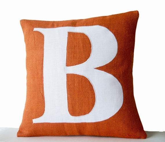 Monogrammed Throw Pillow Covers : Monogram Pillow Cover Personalized Pillow Monogrammed