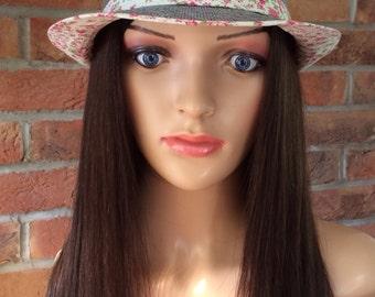 Stylish Chemo hats with human hair bespoke wig