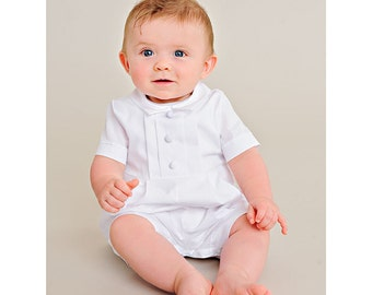 Tyler Christening Baptism Outfit