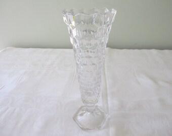 "Fostoria American - 8-1/4"" Flared Bud Vase"