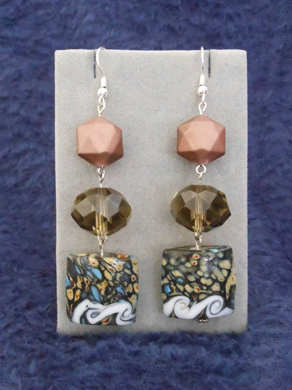 Pocahontas Earrings: Colors Of the Wind