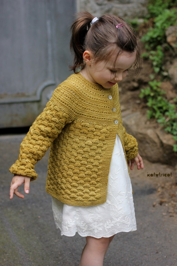 Knitting Pattern Cardigan For 18 Months : Knitting Pattern