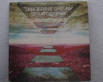 "Tangerine Dream - ""Stratosfear"" vinyl record (NT)"