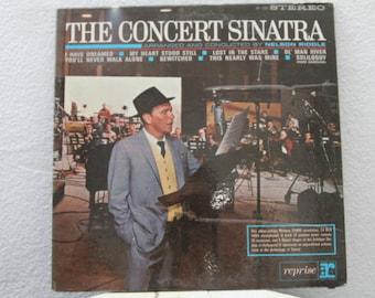 "Frank Sinatra - ""The Concert Sinatra"" vinyl record"