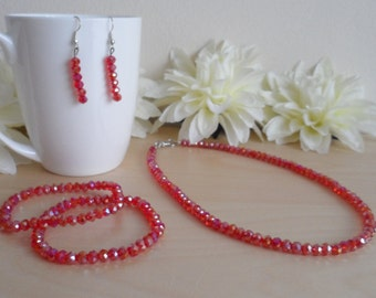 Red Sparkly Set