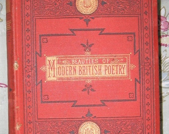 Beauties of Modern British Poetry by David Grant 1871