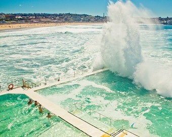 Bondi beach, Affordable home decor, wall art, Sydney, surfers