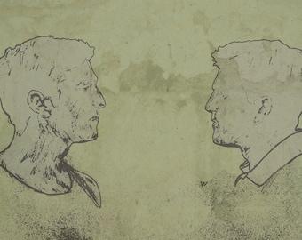 True Detective original Illustration
