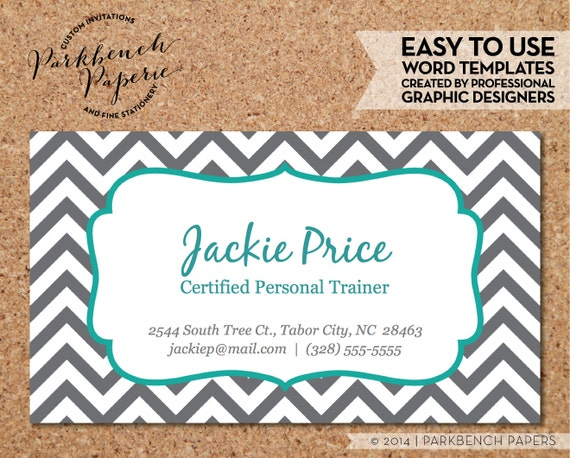 Items similar to business card template gray chevron teal business items similar to business card template gray chevron teal editable business card templates free fbccfo Choice Image