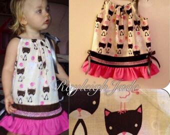 "Kitty dress-""Meow"""