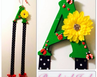 Ladybug bow-holder