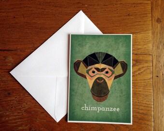 CHIMP | Greeting Card