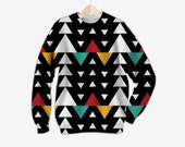 African Triangle Love Sweatshirt