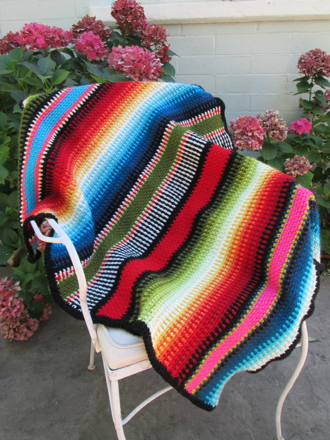 334 best images about Crochet-Native American and Western ... |Mexican Blanket Pattern