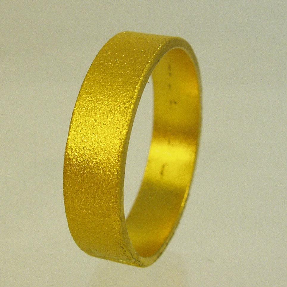 pure solid gold wedding band 24 karat solid gold ring100. Black Bedroom Furniture Sets. Home Design Ideas