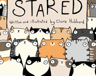The Cats That Stared - an Original Comic Book
