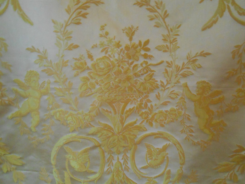 Scalamandre Louis Xvi Silk Lampas Fabric By Englishfabric