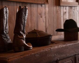 Cowboy Boots Photograph