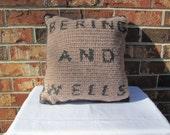 Bering and Wells Crochet Pillow - Warehouse 13