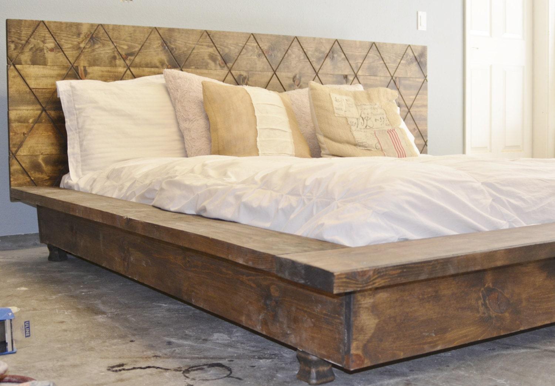 Sale 20 Off Rustic Wood Platform Bed Frame By