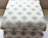 Waterproof Picnic Blanket-New Fabric Curtis Macon Saffron