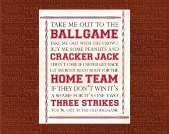 baseball nursery | etsy