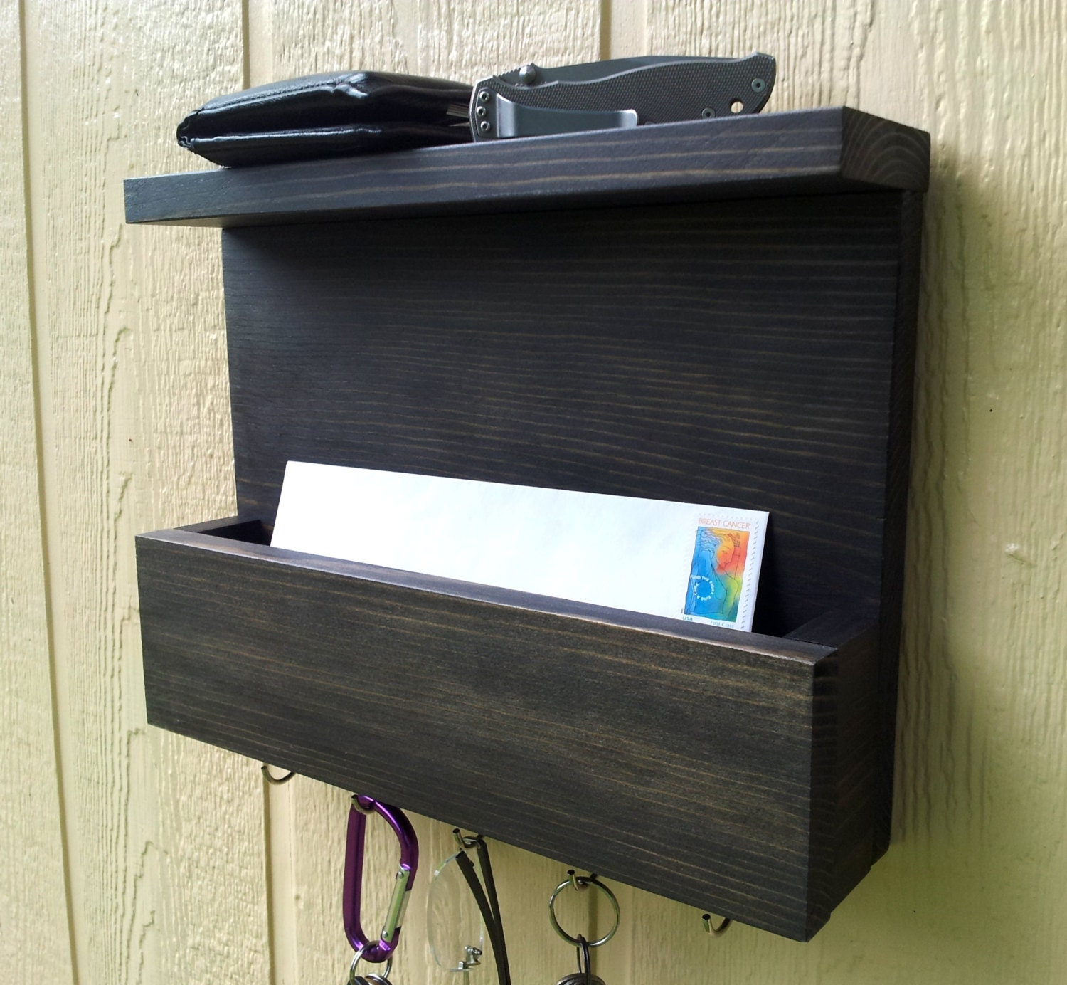 the serendipity mail and key rack mail organizer mail