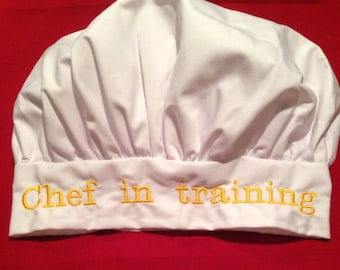 Personalized Child's Chef Hat