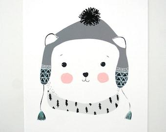 Print- Polar Teddy-