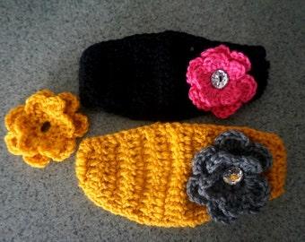 Crochet Headband SALE toddler/girl