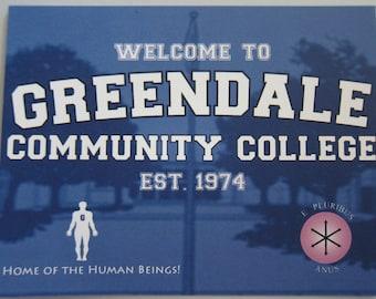 Community - Greendale Postcard
