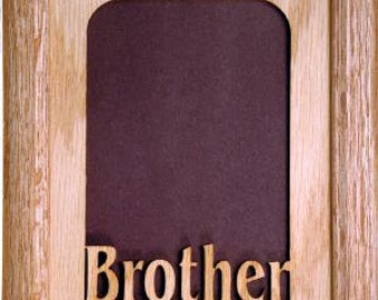 Brother Oak Picture Frame 5x7