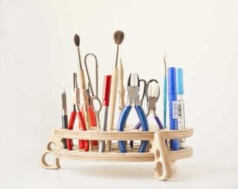 Office organizer, Desk Organizer,  holder, wooden organizer, tool storage, tool organizer, tool holder, Office organizer,plier stand